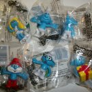 SMURF 2009 SET of 6 SMURFS