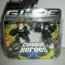 GI JOE COMBAT HEROES DUKE/ PARA-VIPER Figures