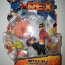 GENERATOR REX BATTLE SAW CIRCUITRY REX Action Figure