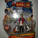 GENERATOR REX SMACK HANDS REX Action Figure