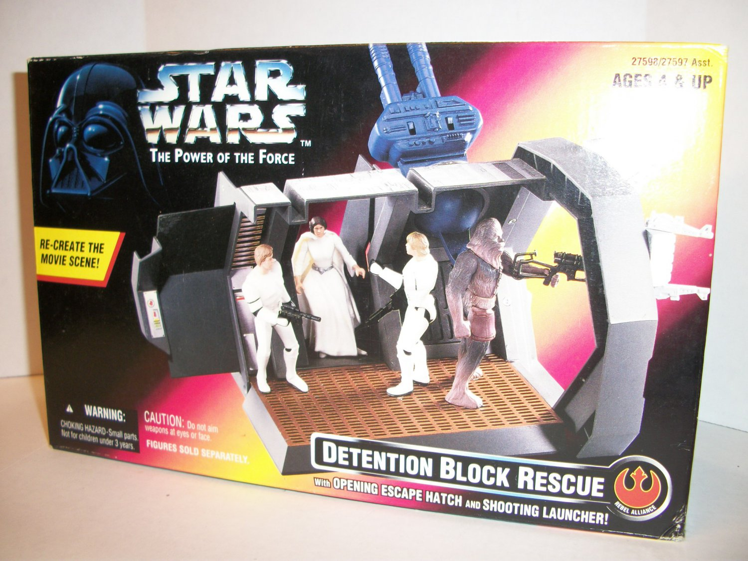 STAR WARS 1996 DETENTION BLOCK RESCUE Playset