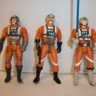 """STAR WARS """"X-WING STUDS"""" Action Figure Lot of 3"""
