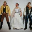 "STAR WARS ""YAVIN CELEBRATION"" Action Figure Lot of 3"