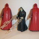 """STAR WARS """"EMPEROR & GUARDS"""" Action Figure lot of 3"""
