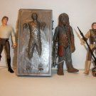"STAR WARS ""RESCUE HAN"" ACTION FIGURE LOT OF 4"