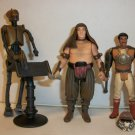 "STAR WARS ""JABBA'S EoM'S"" Action Figure lot of 3"