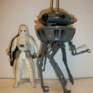"""STAR WARS """"PROBE DROID & BUDDY"""" Action Figure lot of2"""