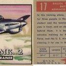 """TOPPS 1952 """"WINGS""""  #17 BALLIOL T.MK.2 Trading Card"""