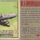 "TOPPS 1952 ""WINGS""  #32 C-74 GLOBEMASTER Trading Card"
