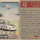 """TOPPS 1952 """"WINGS""""  #48 C-123 AVITRUK Trading Card"""