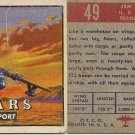 "TOPPS 1952 ""WINGS""  #49 JRM MARS Trading Card"