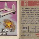 "TOPPS 1952 ""WINGS""  #69 C-119 PACKET Trading Card"