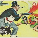"TOPPS 1966 BATMAN #19 ""FIERY ENCOUNTER"" Trading Card"