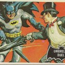 """TOPPS 1966 BATMAN #23 """"UMBRELLA DUEL"""" Trading Card"""