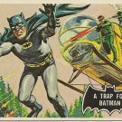 "TOPPS 1966 BATMAN #37 ""A TRAP FOR BATMAN"" Trading Card"