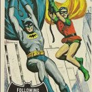 "TOPPS 1966 BATMAN #40 ""FOLLOWING THE CLUE"" Trading Card"