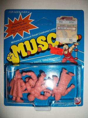 M.U.S.C.L.E. CARDED 4 PACK (A)
