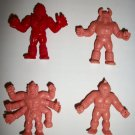 M.U.S.C.L.E. FIGURES LOT of 4 (D)