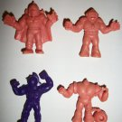 M.U.S.C.L.E. FIGURES LOT of 4 (H)