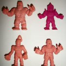 M.U.S.C.L.E. FIGURES LOT of 4 (I)