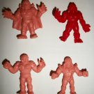 M.U.S.C.L.E. FIGURES LOT of 4 (J)