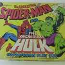 Spider-Man and Hulk Colorforms set 1979*