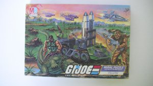 G.I. Joe Mural Puzzle Part 4 Croc Master VS Spearhead and Max 1988*