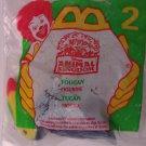 McDonalds Happy Meal Animal Kingdom Toucan toy*