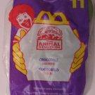 McDonalds Happy Meal Animal Kingdom Crocodile toy*