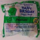 McDonalds Happy Meal Happy Birthday Peantus Snoopy toy*
