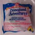 McDonalds Happy Meal Disneyland Adventures Mickey on Space Mountain toy*