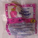 McDonalds Happy Meal Happy Birthday Barbie toy*