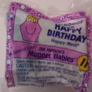 McDonalds Happy Meal Happy Birthday Muppet Babies toy*