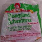 McDonalds Happy Meal Disneyland Adventures Aladdin and Jasmine at Aladdin's Oasis toy*