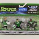 Green Lantern Action League Figures - Guy Gardner, Hal Jordan and John Stewart *