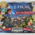Thor The Mighty Avenger Super Hero Squad Battle For Asgard's Vault with Thor, Loki and Destroyer*