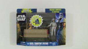 Star Wars Rebel Transport with Rebel Ground Crew*