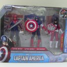 Captain America The International Patriots with Captain Britian and The Red Guardian Action Figures*