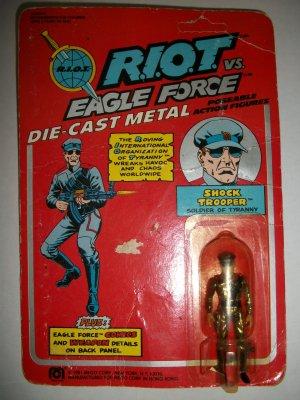 EAGLE FORCE R.I.O.T. SHOCK TROOPER Action Figure