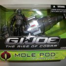 GI JOE RISE of COBRA MOLE POD Vehicle