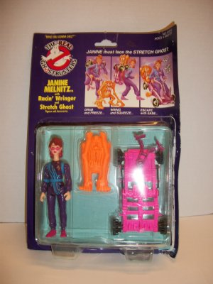 GHOSTBUSTERS 1990 JANINE MELNITZ POWER PACK Action Figure