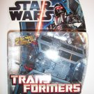 STAR WARS TRANSFORMERS: DARTH VADER to TIE FIGHTER