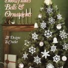 X079 Crochet PATTERN ONLY Snowflakes Bells and Ornaments Pattern 21 Designs