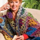 W365 Crochet PATTERN ONLY Hoosier Granny Shrug Pattern