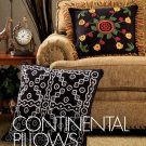 W253 Crochet PATTERN ONLY 2 Continental Pillows Patterns India Mali