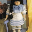 X737 Crochet PATTERN ONLY Old-Fashioned Middy Girl Doll Clothes