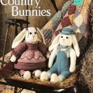 W474 Crochet PATTERN Book ONLY Country Bunnies Toy Dolls Patterns