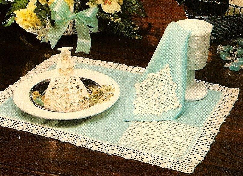 W466 Crochet PATTERN ONLY Angelique Mini Angel Christmas Ornament Pattern