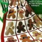 Y969 Crochet PATTERN ONLY Gingerbread Man Afghan Throw Pattern