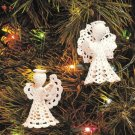 X267 Crochet PATTERN ONLY 2 Angel Ornaments & Park Avenue Afghan Pattern